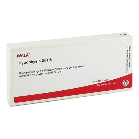 HYPOPHYSIS GL D 6 Ampullen 10x1 Milliliter N1