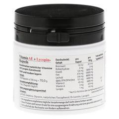 HYPO A Vitamin A+E+Lycopin Kapseln 100 Stück - Rückseite