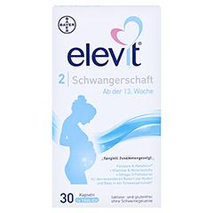 ELEVIT 2 Schwangerschaft Weichkapseln 30 Stück - Vorderseite