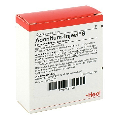 ACONITUM INJEEL S Ampullen 10 Stück N1