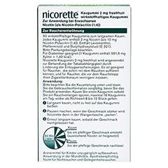 Nicorette 2mg freshfruit 30 Stück - Rückseite