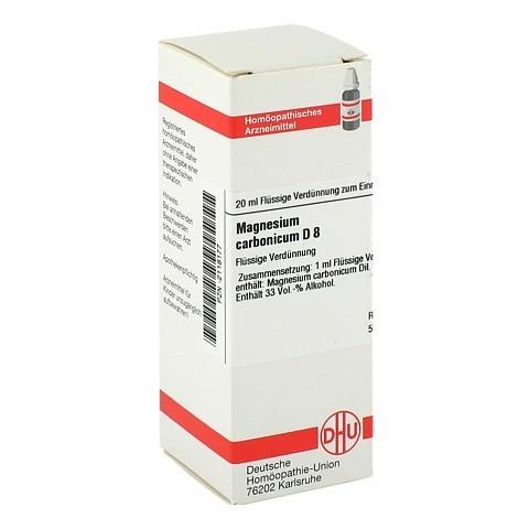 MAGNESIUM CARBONICUM D 8 Dilution 20 Milliliter N1