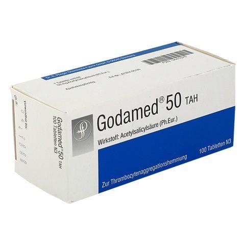 Godamed 50mg ASS TAH 100 Stück N3