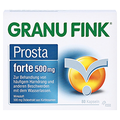 GRANU FINK Prosta forte 500mg 80 St�ck - Vorderseite