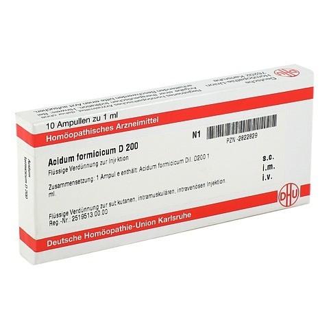 ACIDUM FORMICICUM D 200 Ampullen 10x1 Milliliter N1
