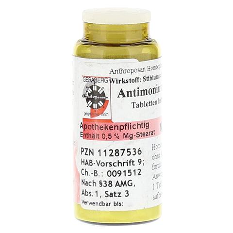 ANTIMONIUM CRUDUM D 6 Tabletten 40 St�ck N1