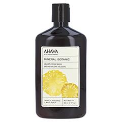 Ahava Mineral Botanic Cream Wash Pineapple/Peach 500 Milliliter