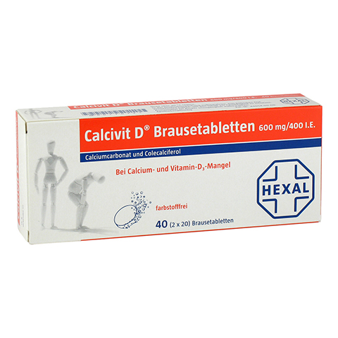 CALCIVIT D Brausetabletten 40 St�ck