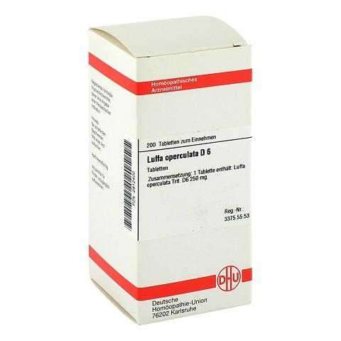 LUFFA OPERCULATA D 6 Tabletten 200 Stück N2