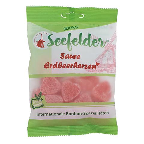 SEEFELDER saure Erdbeerherzen KDA 100 Gramm