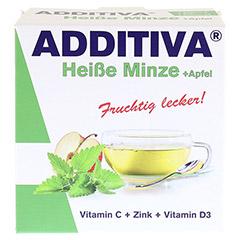 ADDITIVA heiße Minze+Apfel Pulver 120 Gramm - Vorderseite