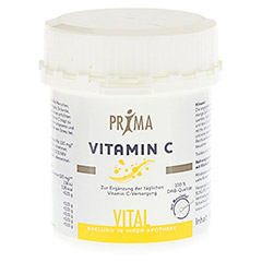 PRIMA VITAMIN C Pulver 100 Gramm - R�ckseite