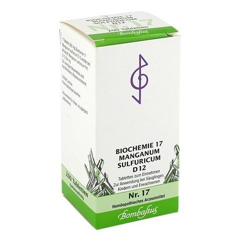 BIOCHEMIE 17 Manganum sulfuricum D 12 Tabletten 200 St�ck N2