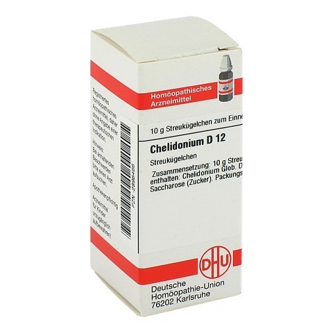 CHELIDONIUM D 12 Globuli 10 Gramm N1