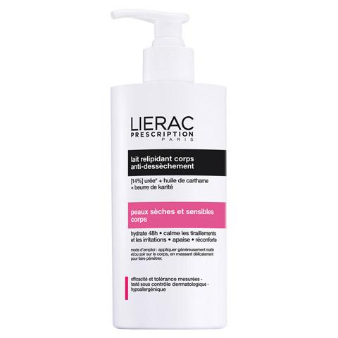 LIERAC Prescription lipid-aufbauende Körpermilch 400 Milliliter