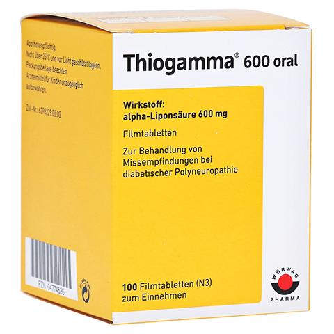 Thiogamma 600 oral 100 St�ck N3