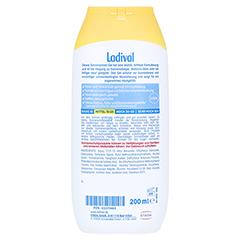 LADIVAL allergische Haut Gel LSF 20 200 Milliliter - Rückseite