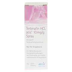 Terbinafin HCL acis 10mg/g 15 Milliliter - Rückseite