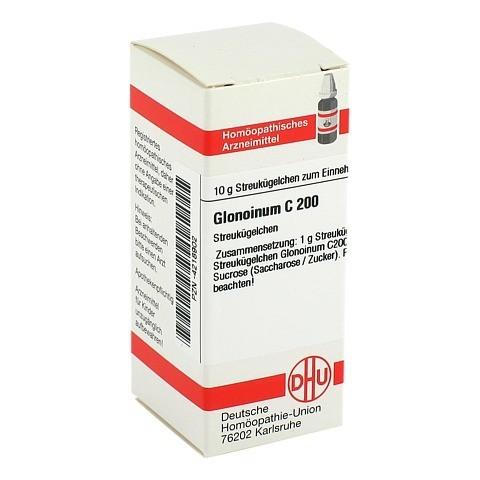 GLONOINUM C 200 Globuli 10 Gramm N1