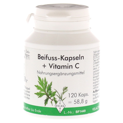 BEIFUSS Kapseln+Vitamin C 120 St�ck