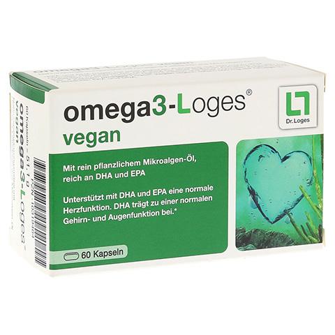 OMEGA 3-Loges vegan Kapseln 60 Stück