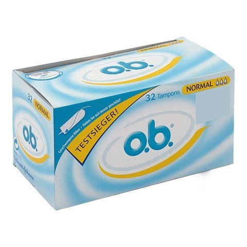O.B. Tampons normal 32 St�ck