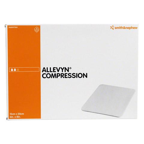 ALLEVYN Compression 15x20 cm hydrosel.Wundauflage 3 Stück