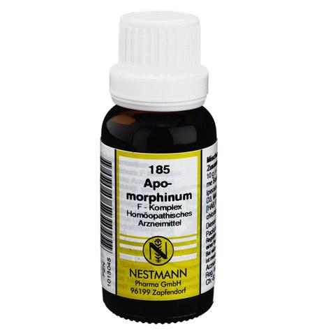 APOMORPHINUM F Komplex Nr.185 Dilution 20 Milliliter
