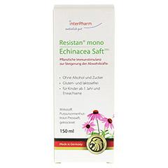 Resistan mono Echinacea Saft 150 Milliliter - Vorderseite