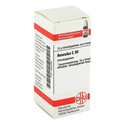 AESCULUS C 30 Globuli 10 Gramm N1