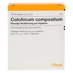 COLCHICUM COMPOSITUM Ampullen 10 Stück N1 - Vorderseite