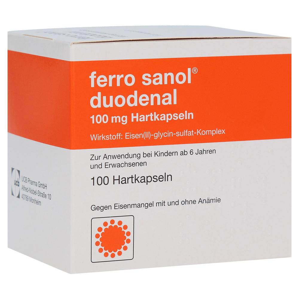 Erfahrungen zu Ferro sanol duodenal 100mg 100 Stück N3