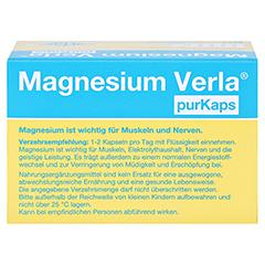 MAGNESIUM VERLA purKaps vegane Kapseln z.Einnehmen 60 Stück - Oberseite