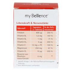 MY BELLENCE Lebenskraft&Nervenstärke Tabletten 30 Stück - Rückseite