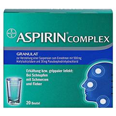 ASPIRIN COMPLEX 20 Stück N2 - Vorderseite