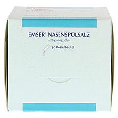 EMSER Nasenspülsalz physiologisch Btl. 50 Stück - Unterseite
