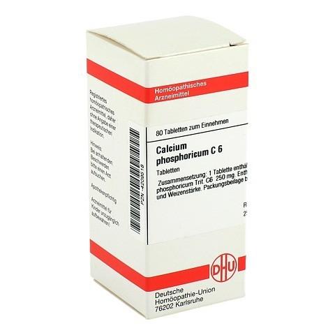 CALCIUM PHOSPHORICUM C 6 Tabletten 80 St�ck N1