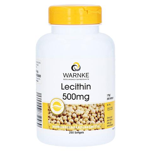 LECITHIN 500 mg Kapseln 250 Stück