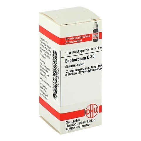 EUPHORBIUM C 30 Globuli 10 Gramm N1