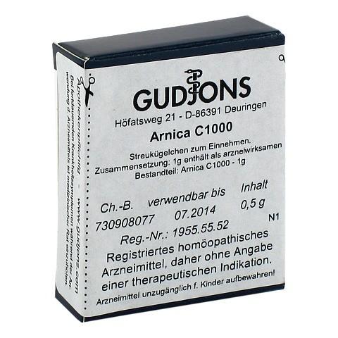 ARNICA C 1000 Einzeldosis Globuli 0.5 Gramm N1