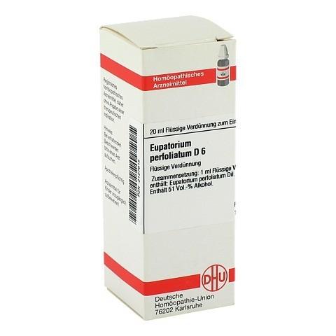 EUPATORIUM PERFOLIATUM D 6 Dilution 20 Milliliter N1