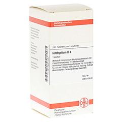 ICHTHYOLUM D 4 Tabletten 200 St�ck N2