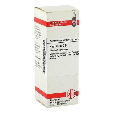 HYDRASTIS D 6 Dilution 20 Milliliter N1