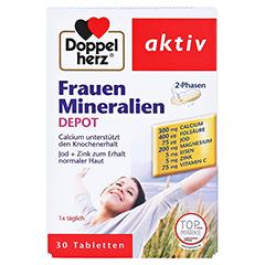 DOPPELHERZ Frauen Mineralien Depot Tabletten 30 Stück - Vorderseite