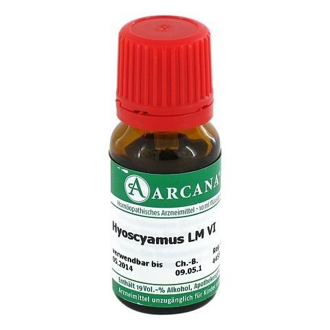 HYOSCYAMUS Arcana LM 6 Dilution 10 Milliliter N1