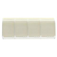 MEDI 7 quattro Medikamentendosierer 4-Fächer weiß 1 Stück - Vorderseite