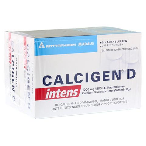 CALCIGEN D intens 1000 mg/880 I.E. Kautabletten 120 Stück N3