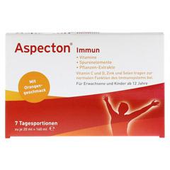 ASPECTON Immun Trinkampullen 7 Stück - Vorderseite
