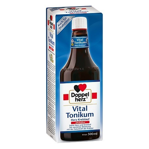 Doppelherz Vital Tonikum Herz-Kreislauf alkoholfrei 500 Milliliter