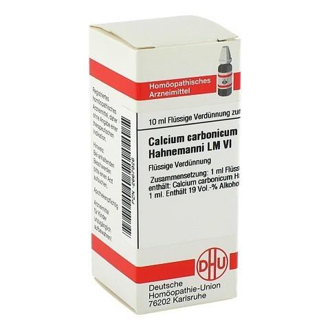 LM CALCIUM carbonicum Hahnemanni VI Dilution 10 Milliliter N1